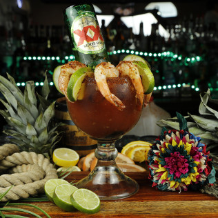 MICHELADA &SHRIMP
